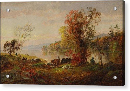 Hastings On The Hudson Acrylic Print