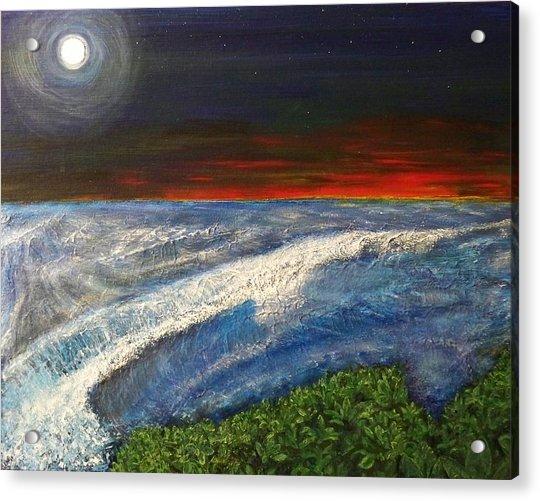 Hawiian View Acrylic Print