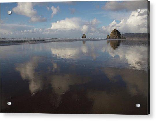 Haystack Needles Horizon Fc Acrylic Print