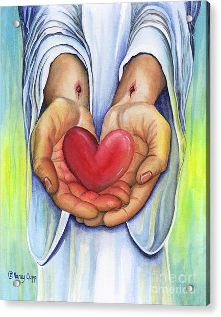 Heart's Desire Acrylic Print