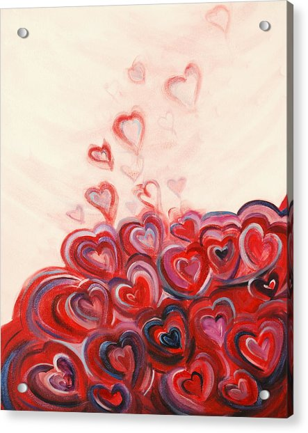 Hearts Given To God Acrylic Print