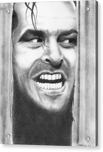 Heeeres Johnny Acrylic Print by Christopher Brooks