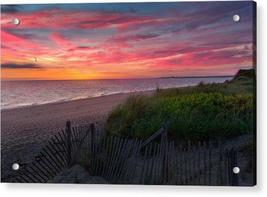 Herring Cove Beach Sunset Acrylic Print