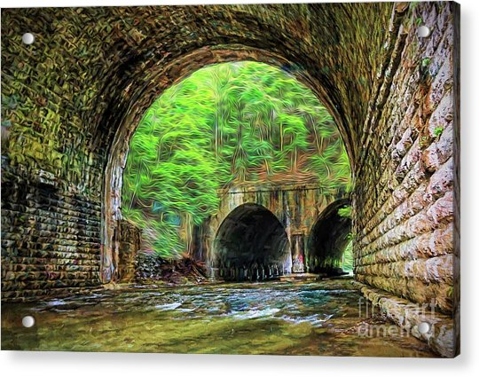 Hidden Gem Acrylic Print