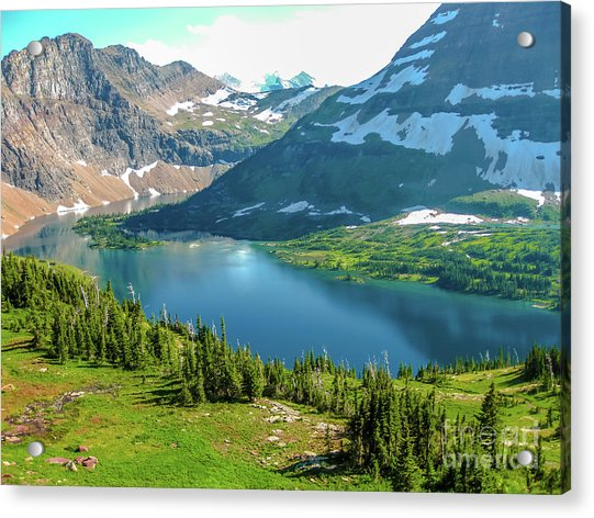 Hidden Lake Glacier National Park Acrylic Print