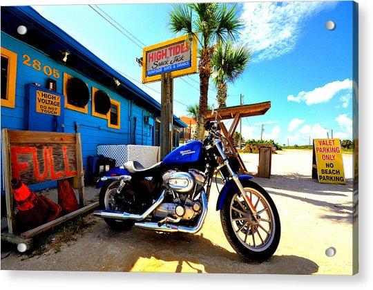 High Tides Harley Acrylic Print