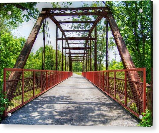 Hinkson Creek Bridge Acrylic Print