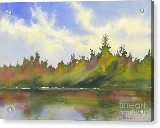 Hint Of Fall Acrylic Print