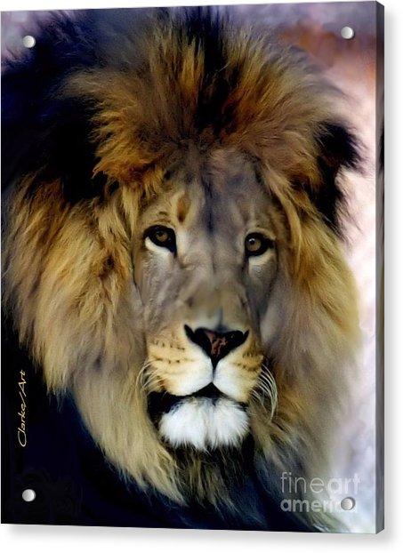 His Majesty The King Acrylic Print
