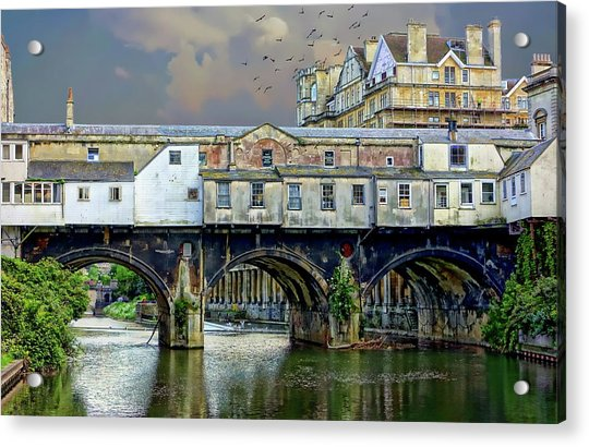 Historic Pulteney Bridge Acrylic Print