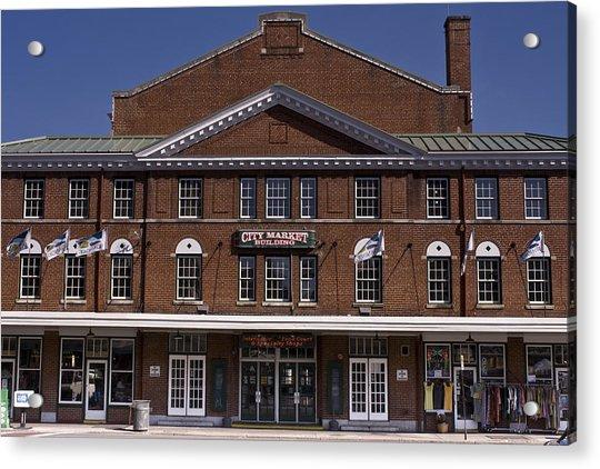 Historic Roanoke City Market Building Acrylic Print