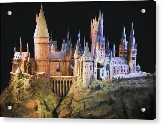Hogwarts School Painting Acrylic Print