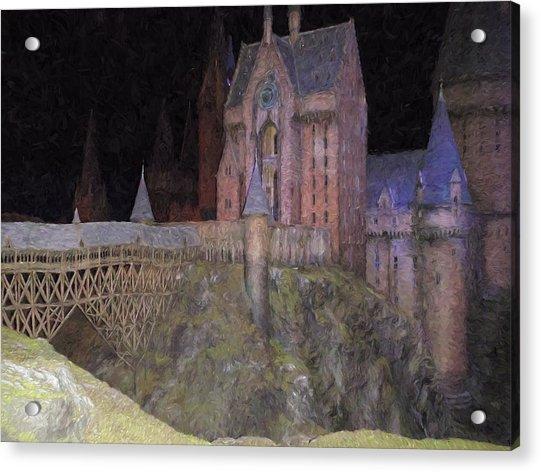 Hogwarts School Acrylic Print