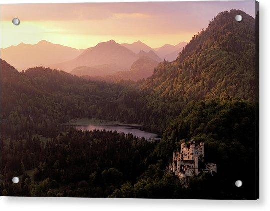 Hohenschwangau Castle Acrylic Print