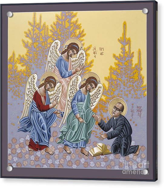 Holy Theologian Bernard Lonergan 122 Acrylic Print