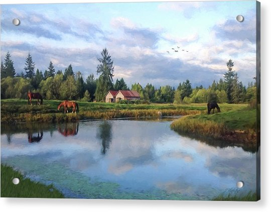 Hope Is Not A Dream - Hope Valley Art Acrylic Print