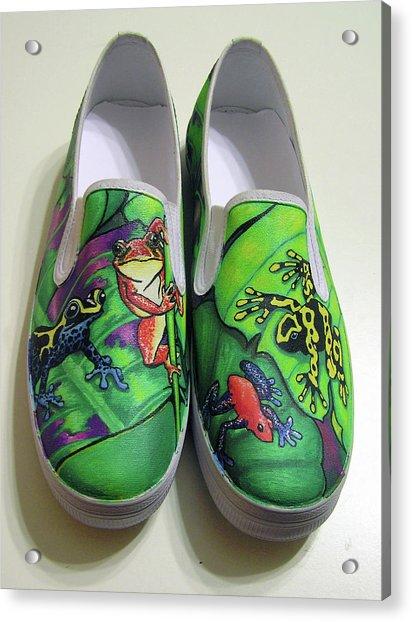 Hoppy Shoes Acrylic Print