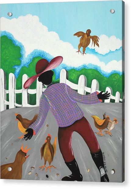 Hot Chicks Acrylic Print