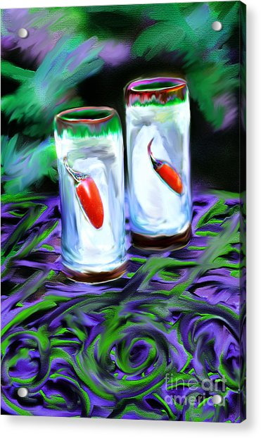 Hot Shots Acrylic Print