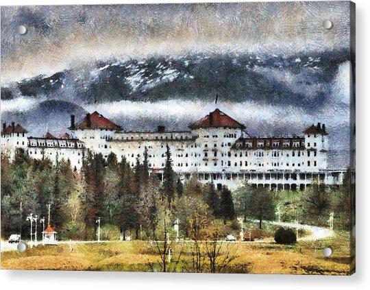 Hotel At Mount Washington Acrylic Print