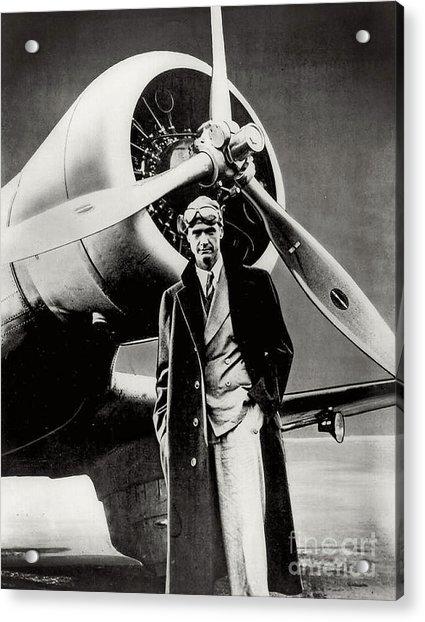Howard Hughes - American Aviator  Acrylic Print