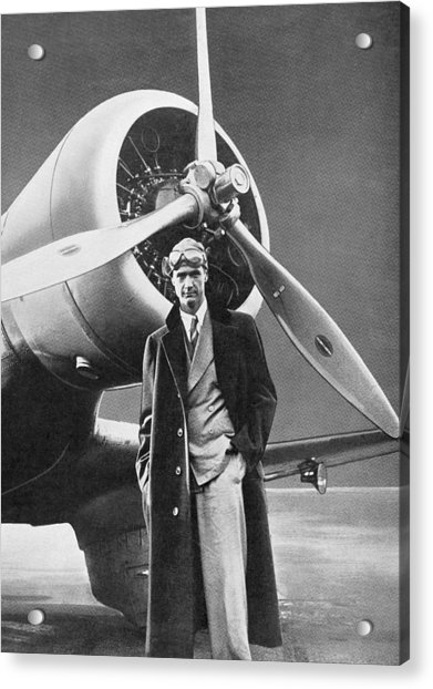 Howard Hughes, Us Aviation Pioneer Acrylic Print