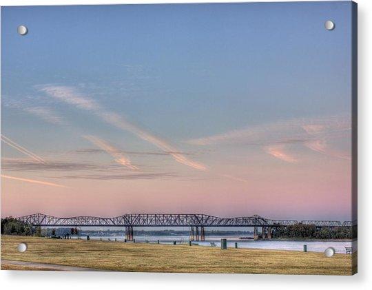 I-55 Bridge Over The Mississippi Acrylic Print