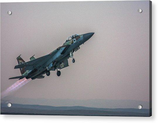 Iaf F-15i Ra'am Acrylic Print