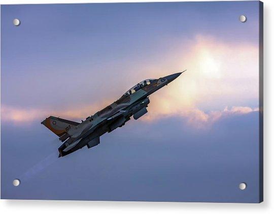 Iaf F-16i Sufa Nr. 107 Acrylic Print