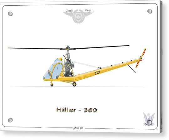 Iaf Hiller 360 Acrylic Print