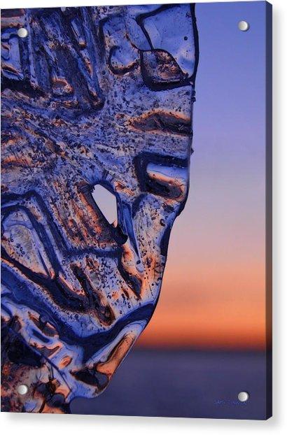 Ice Lord Acrylic Print