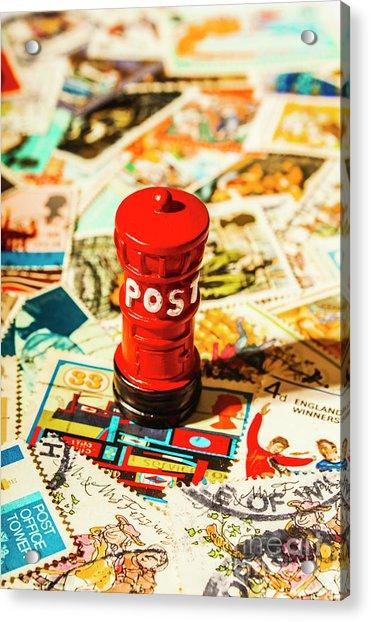 Iconic British Mailbox Acrylic Print
