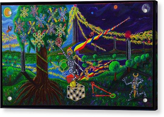 Il Paradiso Il Modello Della Genesi Acrylic Print
