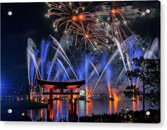 Illuminations 2 - Epcot Center At Disney World Orlando Florida Acrylic Print