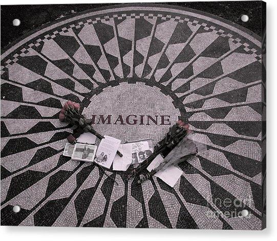 Imagine Acrylic Print