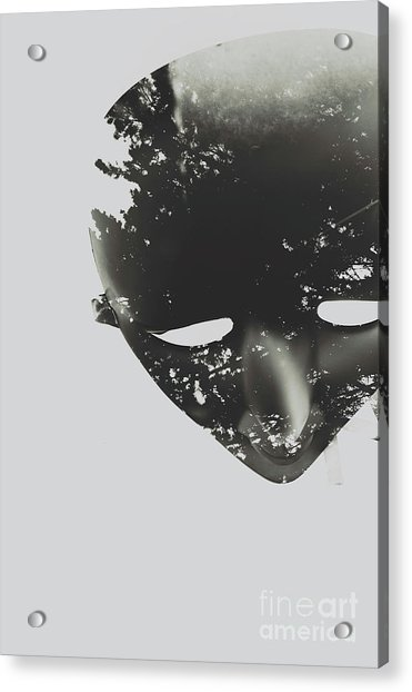 In Creation Of Thought  Acrylic Print