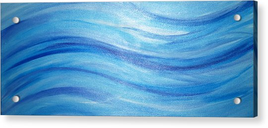 In The River Acrylic Print
