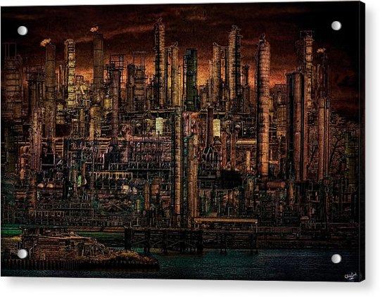 Industrial Psychosis Acrylic Print