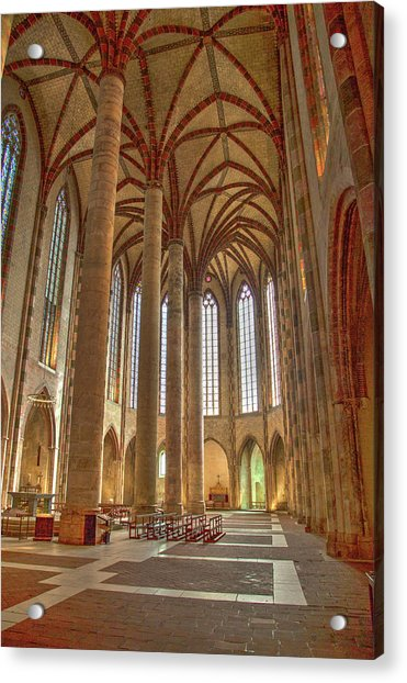 Interior Of The Church Of The Jacobins  Acrylic Print