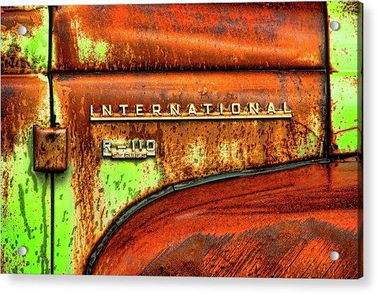 International Mcintosh  Horz Acrylic Print
