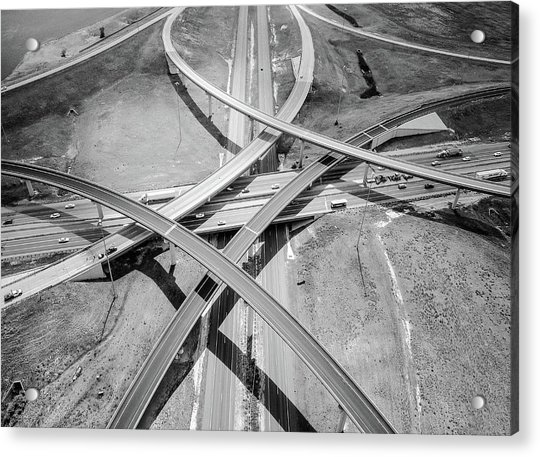Intersections 2 Acrylic Print
