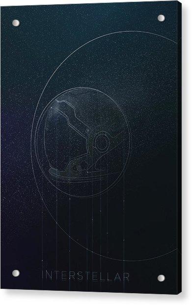 Interstellar Movie Poster Acrylic Print