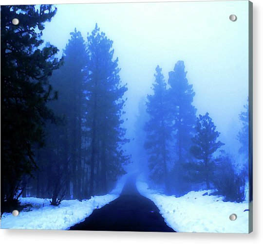 Into The Misty Unknown Acrylic Print
