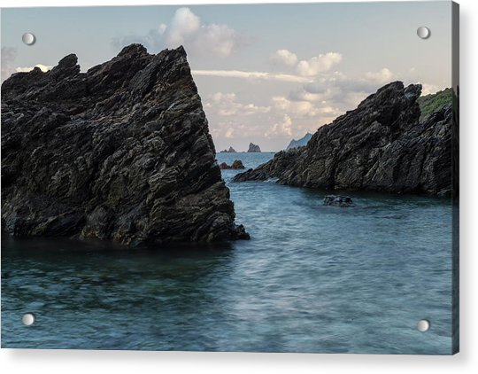 Islets At The Bottom Of The Rocks Acrylic Print