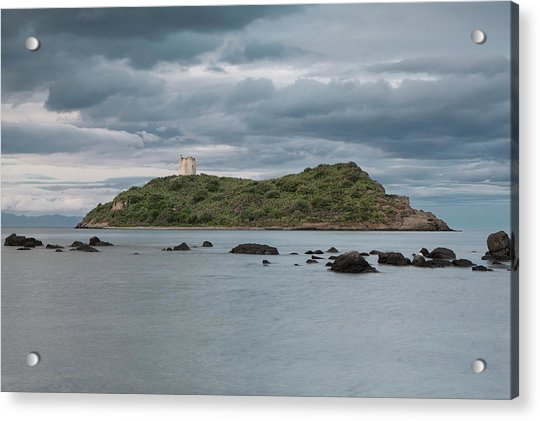 Small Island On The Sea Acrylic Print