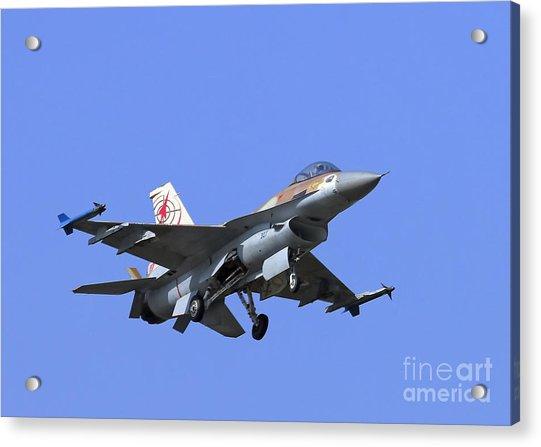 Israeli Air Force F-16c #307 Acrylic Print