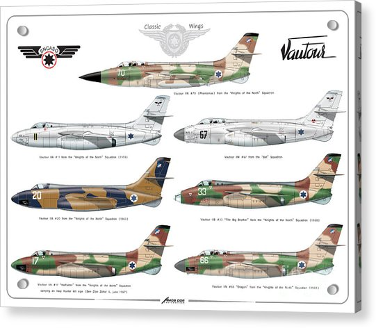 Israeli Air Force Sncaso Voutours Acrylic Print