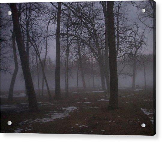 January Fog 2 Acrylic Print
