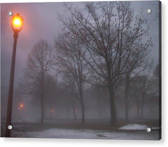January Fog 3 Acrylic Print