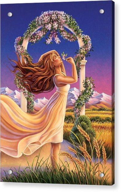 Jasmine - Sensual Pleasure Acrylic Print